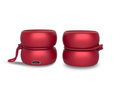 Колонки беспроводные парныеXoopar TWS YoYo Stereo, красные фото