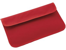 Футляр для смартфона и RFID блокер, красный фото