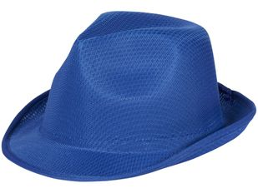 Шляпа Trilby, синяя фото