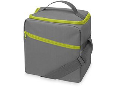 Изотермическая сумка-холодильник Classic, зеленый/ серый фото