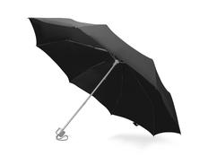 Зонт складной механический Tempe, черный фото