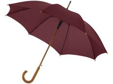Зонт трость полуавтомат Kyle, коричневый фото