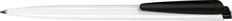 Ручка шариковая пластиковая Senator Dart Basic, черная / белая фото