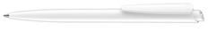 Ручка шариковая пластиковая Senator Dart Polished, белая фото