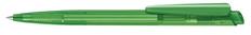 Ручка шариковая пластиковая Senator Dart Clear, зеленая фото