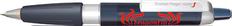 Ручка шариковая пластиковая Senator Big Pen XL Frosty, черная / белая фото