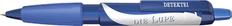 Ручка шариковая пластиковая Senator Big Pen XL Frosty, синяя фото
