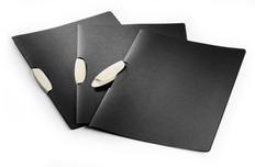 Папка CLIP FILE eco, черный/бежевый фото