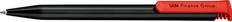 Ручка шариковая пластиковая Senator Super Hit Eco, черная / красная фото