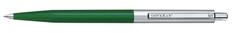 Ручка шариковая металлическая Senator Point Polished Metal, зеленая фото