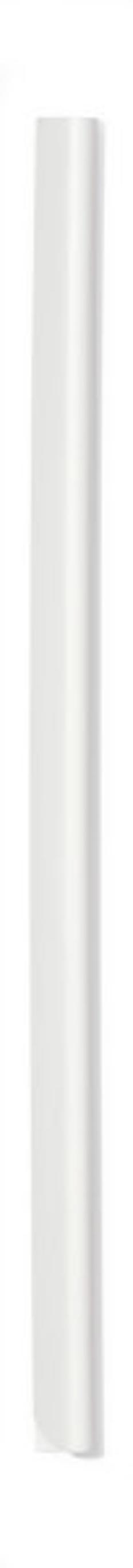 Скрепкошина для документов А4, 6 мм, белая фото