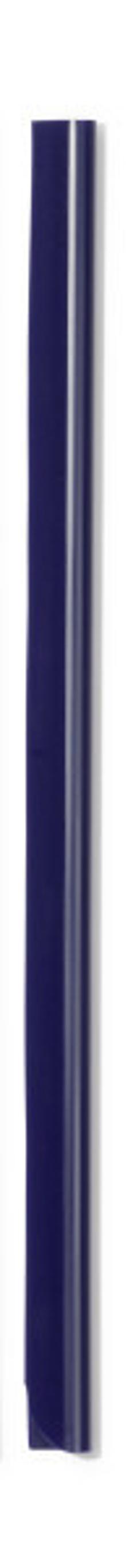 Скрепкошина для документов А4, 6 мм, темно-синяя фото