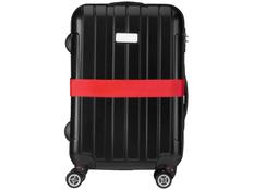 Багажный ремень, красный фото