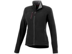 Куртка из микрофлиса женская Slazenger Pitch, черная фото