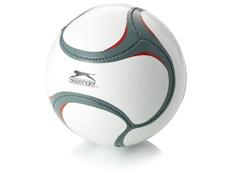 Мяч футбольный, белый/ серый фото