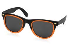 Очки солнцезащитные Rockport, черный/ оранжевый фото