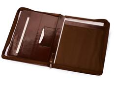 Папка для документов А4 Шамбери, коричневый фото