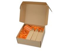 Подарочный набор Tea chest с тремя видами чая, оранжевый фото