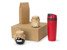Подарочный набор Tea Cup Superior Honey, красный, коричневый фото
