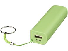 Портативное зарядное устройство Span, 1200 mAh, зеленое фото