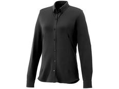 Рубашка с длинным рукавом женская Elevate Bigelow, черная фото