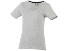 Футболка женская Slazenger Bosey, серый меланж фото