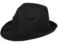 Шляпа Trilby, черная фото