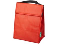 Сумка-холодильник для ланчей Triangle, красная фото