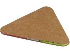 Треугольные стикеры, коричневый фото