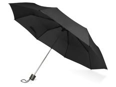 Зонт складной механический Columbus, черный фото
