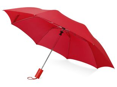 Зонт складной полуавтомат Tulsa, красный фото