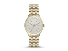 Часы наручные DKNY, женские, d36, золотистый фото