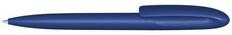 Ручка шариковая пластиковая Senator Skeye Bio matt, темно-синяя фото