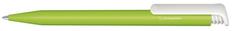 Ручка шариковая пластиковая Senator Super Hit Bio matt, зеленая / белая фото