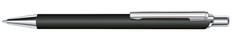 Ручка шариковая металлическая Senator Arvent Soft Touch, черная фото