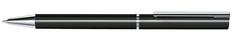 Ручка шариковая металлическая Senator Galant, черная фото