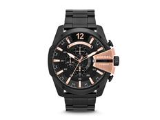 Часы наручные Diesel, мужские, d51, черный/золотистый фото