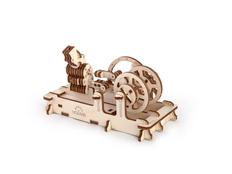 3D-пазл UGEARS Двигатель, древесный фото