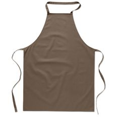 Кухонный фартук из хлопка, коричневый фото
