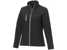Куртка флисовая женская Elevate Orion, чёрная фото