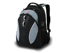 Рюкзак WENGER, регулируемые эластичные плечевые ремни анатомической формы, черный/серый фото