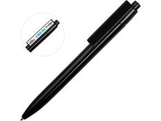 Ручка шариковая пластиковая Mastic, черная фото