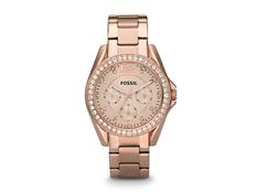 Часы наручные Fossil Riley, женские, золотой фото
