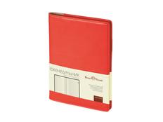 Еженедельник недатированный Bruno Visconti Concept А5, красный фото
