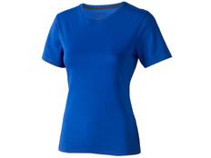 Футболка женская Elevate Nanaimo, синяя фото