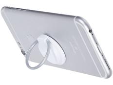Держатель кольцо для телефона, серое / белое фото
