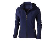 Куртка софтшел женская Elevate Langley, темно-синяя фото