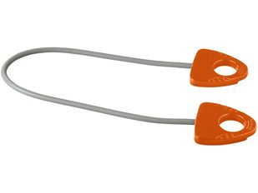 Резинка для занятий йогой Dolphin, оранжевый фото