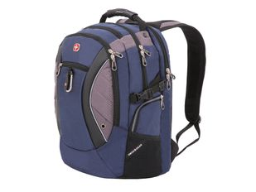 """Рюкзак с отделением для ноутбука 15"""" Swissgear, синий/ сиреневый фото"""
