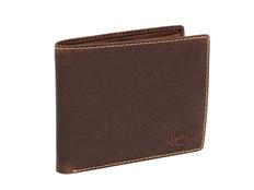 Бумажник Klondike 1896 Yukon, зернистая кожа, коричневый фото